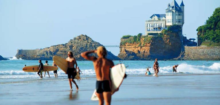 vacation rentals,Hélianthe,Biarritz,town center,surfing